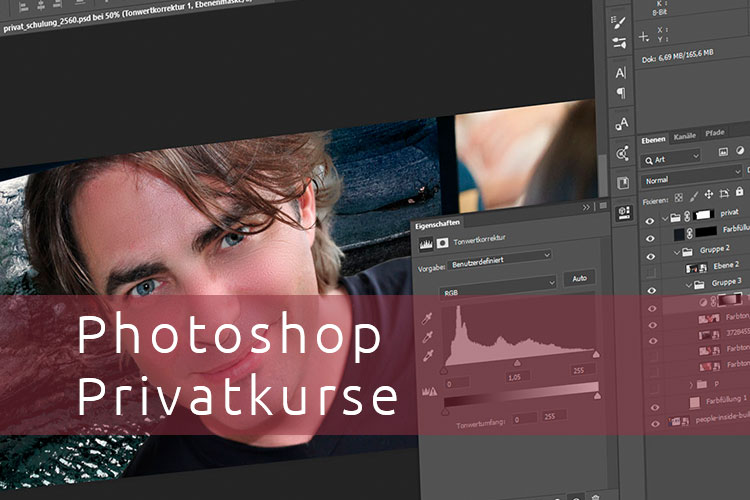 Photoshop Privatschulung